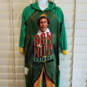 Buddy Elf Women's Son Of a Nutcracker 1 Pc PJ L